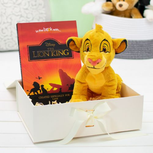 Lion King Premium Book & Plush Toy